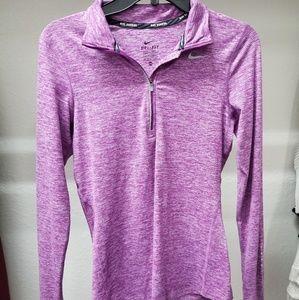 Nike Purple 1/2 Zip Pullover